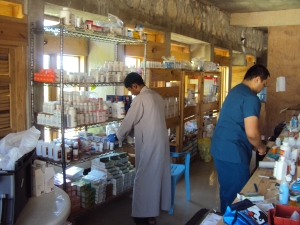pharmacy area
